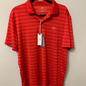 NWT Men's Red Southern Tide Polo